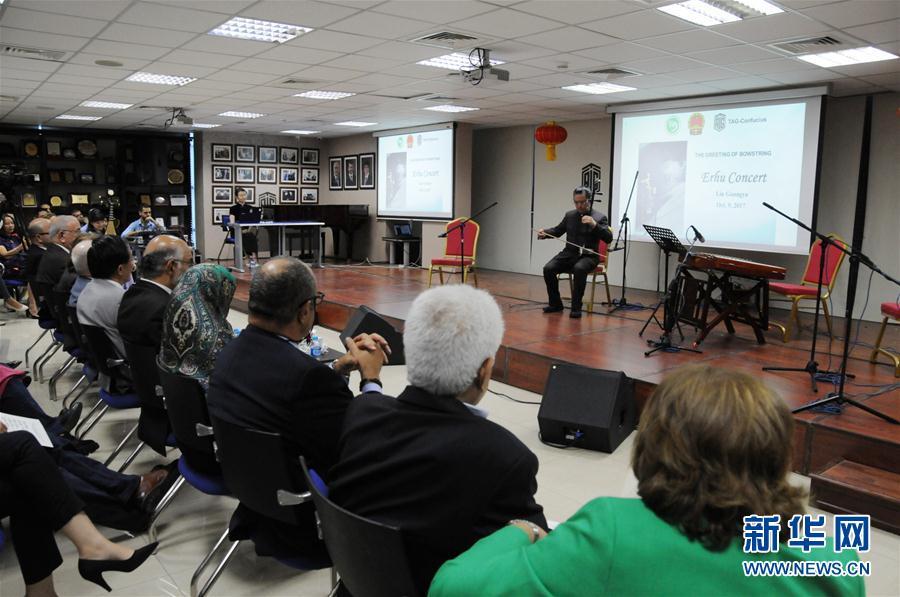 中國民樂奏響約旦首都安曼