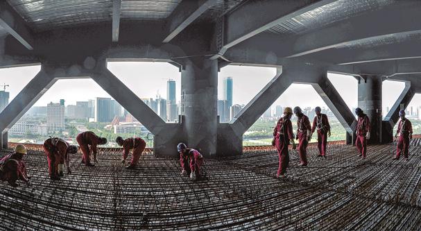 中國經濟的韌性|陜建集團:匠心執守 築夢遠航